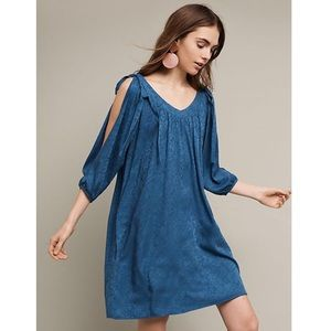 Anthro Holding Horses Leyton Open Shoulder Dress
